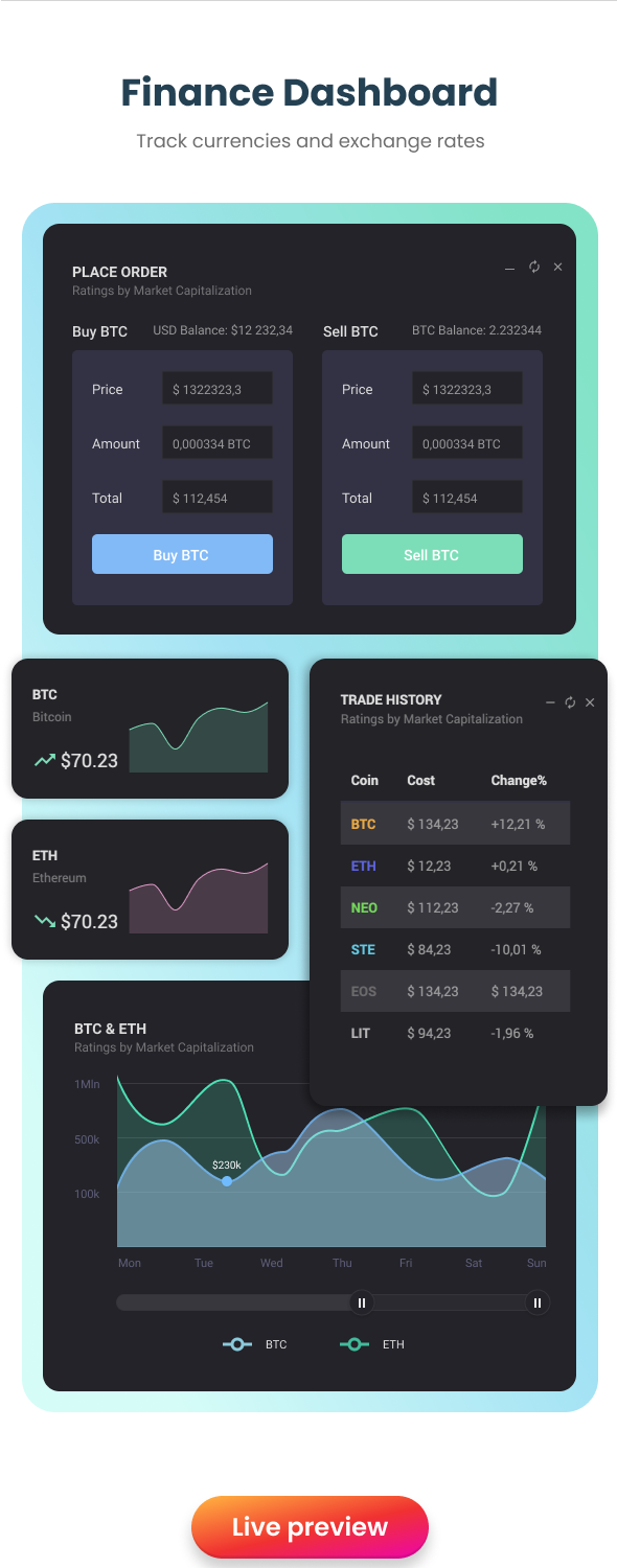 EasyDev — React Redux BS4 Developer Friendly Admin Template + Seed Project - 7