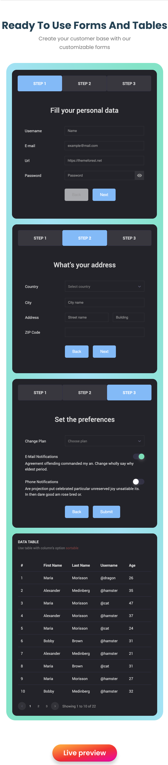 EasyDev — React Redux BS4 Developer Friendly Admin Template + Seed Project - 13