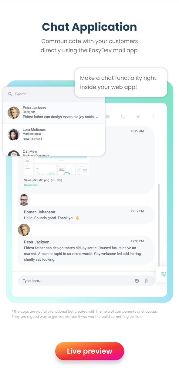 EasyDev — React Redux BS4 Developer Friendly Admin Template + Seed Project - 17