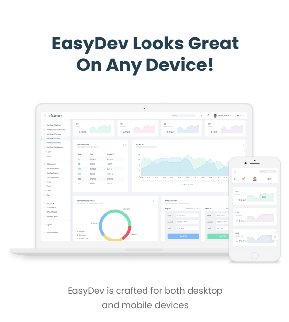 EasyDev — React Redux BS4 Developer Friendly Admin Template + Seed Project - 18